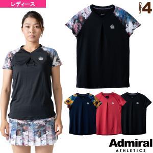 アドミラル(Admiral) テニス・バドミントンウェア(レディース)  フロントタックデザインラグランTシャツ/レディース(ATLA101)|racket