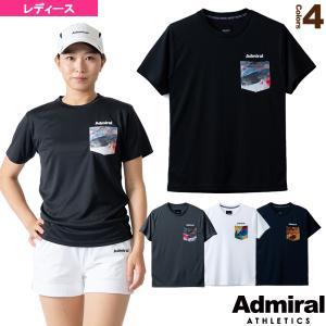 アドミラル(Admiral) テニス・バドミントンウェア(レディース)  カジュアルポケットTシャツ/レディース(ATLA102)|racket