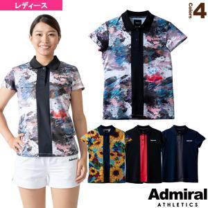 アドミラル(Admiral) テニス・バドミントンウェア(レディース)  フロントラインポロシャツ/レディース(ATLA103)|racket