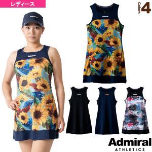 アドミラル(Admiral) テニス・バドミントンウェア(レディース)  バイカラーノースリーブワンピース/レディース(ATLA105)|racket
