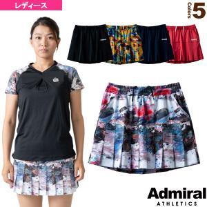 アドミラル(Admiral) テニス・バドミントン ウェア(レディース)  ベーシックプリーツスコート/レディース(ATLA108)|racket