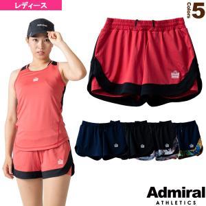 アドミラル(Admiral) テニス・バドミントン ウェア(レディース)  フラップレイヤードショーツ/レディース(ATLA109)|racket
