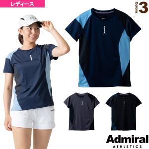 アドミラル(Admiral) テニス・バドミントンウェア(レディース)  パネルスイッチゲームTシャツ/レディース(ATLA115)|racket