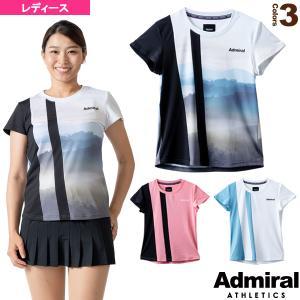 アドミラル(Admiral) テニス・バドミントンウェア(レディース)  アシンメトリーラインTシャツ/レディース(ATLA125)|racket