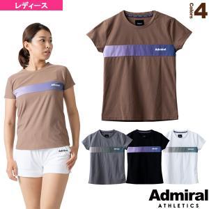 アドミラル(Admiral) テニス・バドミントンウェア(レディース)  フロントラインTシャツ/レディース(ATLA126)|racket