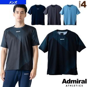 アドミラル(Admiral) テニス・バドミントンウェア(メンズ/ユニ)  サイドパイピングゲームTシャツ/メンズ(ATMA109)|racket