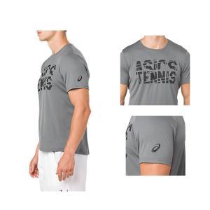 d672a434c94bfb ... アシックス テニス・バドミントンウェア(メンズ/ユニ) プラクティスショートスリーブトップ/メンズ ...