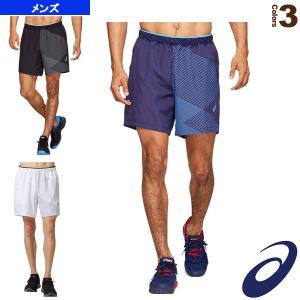 アシックス テニス・バドミントンウェア(メンズ/ユニ)  CLUB グラフィックショーツ/メンズ((2041A084)|racket