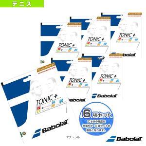 バボラ テニスストリング(単張)  『6張単位』トニックプラス ロンジビティ(BA201027)(ナチュラルガット) racket
