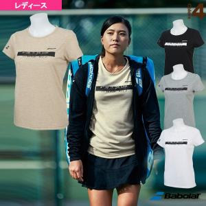 (BTWNJA03) レディース フラッグシップライン/ ショートスリーブシャツ/ 【テニス・バドミントン ウェア(レディース) バボラ】