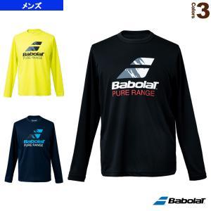 バボラ テニス・バドミントンウェア(メンズ/ユニ)  PURE LONG SLEEVE SHIRT/長袖シャツ/メンズ(BUP1502) racket