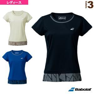 バボラ テニス・バドミントン ウェア(レディース)  VS SHORT SLEEVE SHIRT/半袖ゲームシャツ/レディース(BWG1322) racket
