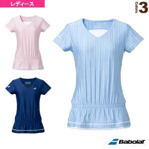 バボラ テニス・バドミントンウェア(レディース)  PURE SHORT SLEEVE SHIRT/半袖ゲームシャツ/レディース(BWG1323) racket