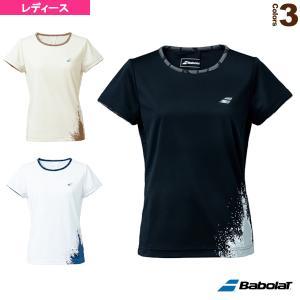 バボラ ウェア(レディース)  VS SHORT SLEEVE SHIRT/半袖プラクティス・ゲームシャツ/レディース(BWP1520) racket