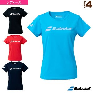 バボラ  ウェア(レディース)  CLUB SHORT SLEEVE SHIRT/半袖プラクティスシャツ/レディース(BWP1530C) racket