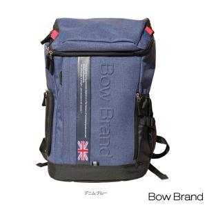 ボウブランド テニスバッグ  BOW Back Pack/バックパック/ラケット2本収納可(BOW-JB2007)|racket