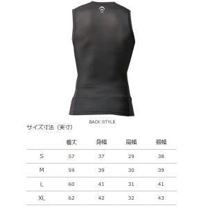 シースリーフィット オールスポーツアンダーウェア  C3fit インパルス スリーブレス/メンズ(3F08191)|racket|02