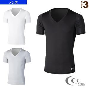 シースリーフィット オールスポーツアンダーウェア  クーリングVネックハーフスリーブ/メンズ(3F09112)|racket