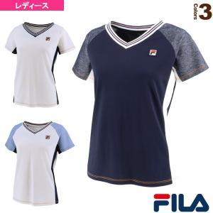 フィラ テニス・バドミントンウェア(レディース)  ゲームシャツ/レディース(VL2091)