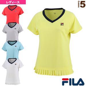 フィラ テニス・バドミントンウェア(レディース)  ゲームシャツ/レディース(VL2151)