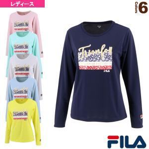 フィラ テニス・バドミントンウェア(レディース)  ロングスリーブグラフィックTシャツ/レディース(VL2286)|racket