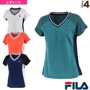 フィラ テニス・バドミントン ウェア(レディース)  ゲームシャツ/レディース(VL2325)|racket