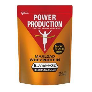 グリコ オールスポーツサプリメント・ドリンク マックスロードホエイプロテイン/チョコレート味/1.0kg(G76012)|racket