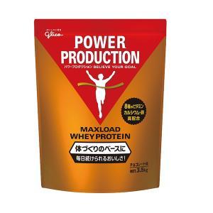 グリコ オールスポーツサプリメント・ドリンク マックスロードホエイプロテイン/チョコレート味/3.5kg(G76014)|racket