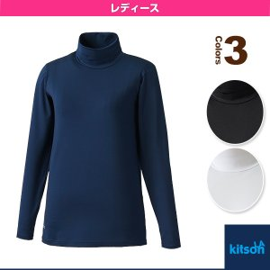キットソン テニス・バドミントンウェア(レディース)  モックネックシャツ(袖レース付)/レディース(0364154)|racket