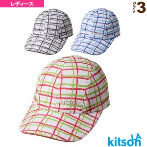 キットソン テニスアクセサリ・小物  チェック柄キャップ/レディース(0372020)|racket