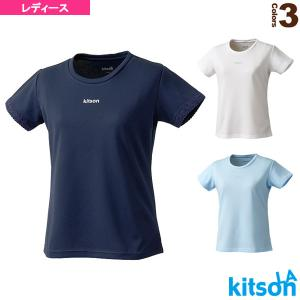 キットソン テニス・バドミントンウェア(レディース)  Tシャツ(袖口レース付)/レディース(0372040)|racket