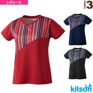 キットソン テニス・バドミントンウェア(レディース)  ゲームシャツ/レディース(0384001)|racket