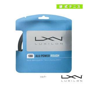 ルキシロン テニスストリング(単張)  ALU POWER ROUGH 130/アル パワー ラフ130(WR8302701130)(ガット) racket