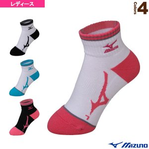 9f5efebc40e2de ミズノ テニス・バドミントンウェア(レディース) ソックス/ショート/レディース(62JX7002)バドミントンウェア女性用靴下