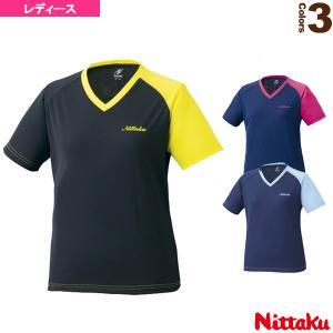 ニッタク 卓球ウェア(レディース)  VNT レディース Tシャツ(NX-2079)