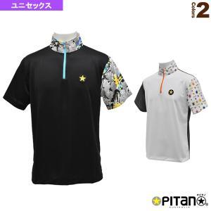 オピタノ テニス・バドミントンウェア(メンズ/ユニ)  UVカット&クール・ジップアップシャツCombi/ユニセックス(OPT-123) racket