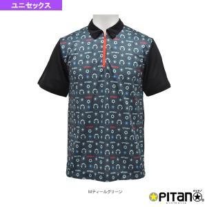 オピタノ テニス・バドミントンウェア(メンズ/ユニ) UVカット&クール・ジップポロ/ユニセックス(OPT-127)|racket