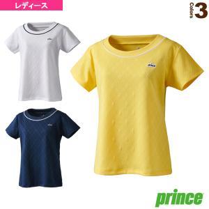 プリンス テニス・バドミントンウェア(レディース)  ゲームシャツ/レディース(WS0027)
