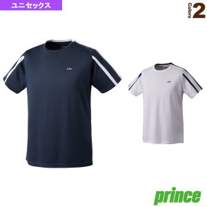 プリンス テニス・バドミントンウェア(メンズ/ユニ) 2018年02月上旬 【予約】ゲームシャツ/ユニセックス(WU8011)|racket