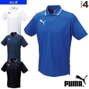 プーマ サッカーウェア(メンズ/ユニ)  ライン入り半袖ポロシャツ/メンズ(864221)|racket