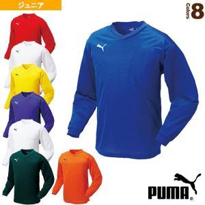 プーマ サッカーウェア(メンズ/ユニ)  ワンポイントジュニア長袖ゲームシャツ/ジュニア(903294)|racket