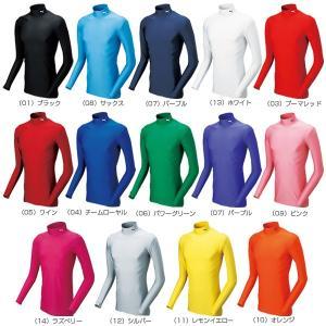 プーマ オールスポーツアンダーウェア  コンプレッション モックネック ロングスリーブシャツ/メンズ(920480) racket 02
