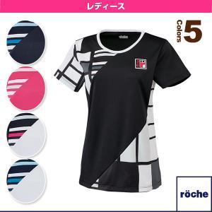 ローチェ(roche) テニス・バドミントンウェア(レディース)  ゲームシャツ/レディース(R7T31V)