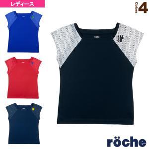 ローチェ(roche) テニス・バドミントンウェア(レディース)  ゲームシャツ/レディース(RD301) racket