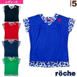 ローチェ(roche) テニス・バドミントンウェア(レディース)  ゲームシャツ/レディース(RD401) racket