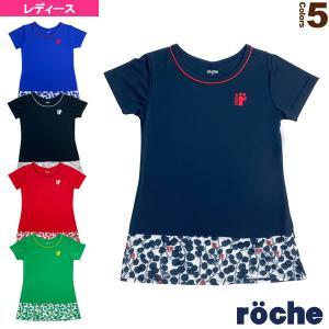 ローチェ(roche) テニス・バドミントンウェア(レディース)  ゲームチュニックシャツ/レディース(RD413) racket