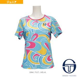 セルジオタッキーニ テニスジュニアグッズ  BARBIE JRF T-SHIRT/バービー Tシャツ/ガールズ(SGT-38458)|racket