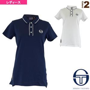 セルジオタッキーニ  ウェア(レディース)  FIORE/MC/STAFF POLO/モンテカルロ ポロシャツ/レディース(SGT-38594) racket