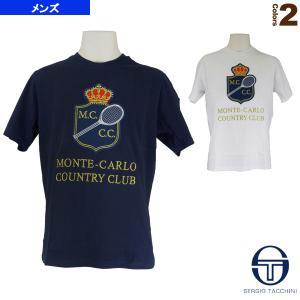 セルジオタッキーニ テニス・バドミントン ウェア(メンズ/ユニ)  MCCC T-SHIRT/MONTE-CARLO/メンズ(SGT-38820) racket