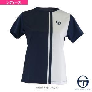 セルジオタッキーニ テニス・バドミントンウェア(レディース)  バーチカル ゲームシャツ/レディース(SGTA-20009) racket